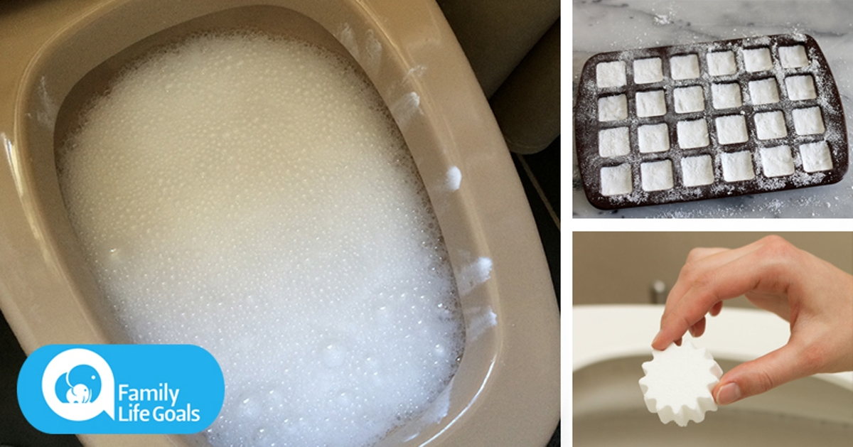You'll Never Have to Scrub the Toilet AGAIN if you Make these DIY Toilet Cleaning Bombs