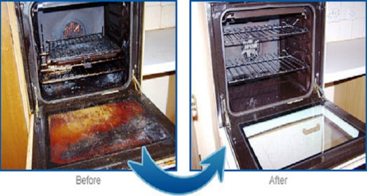 Natural Mixture to Remove Grease, Dirt and Grime from Your Oven in Just 2 Minutes