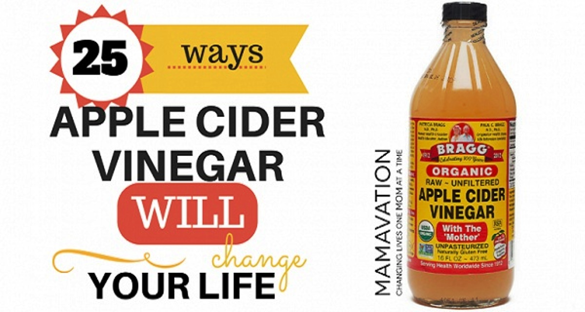 25 Uses Of Apple Cider Vinegar That Will Change Your Life