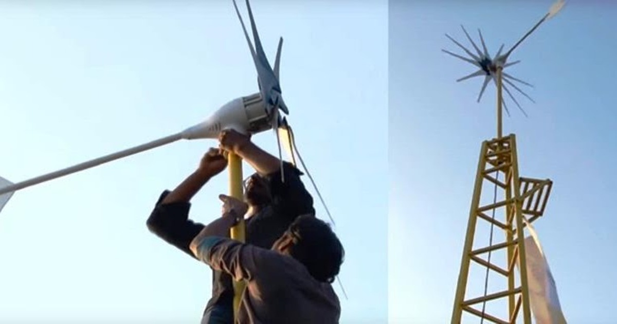 For the cost of an iPhone, you can now buy a wind turbine that can power an entire house for a lifetime