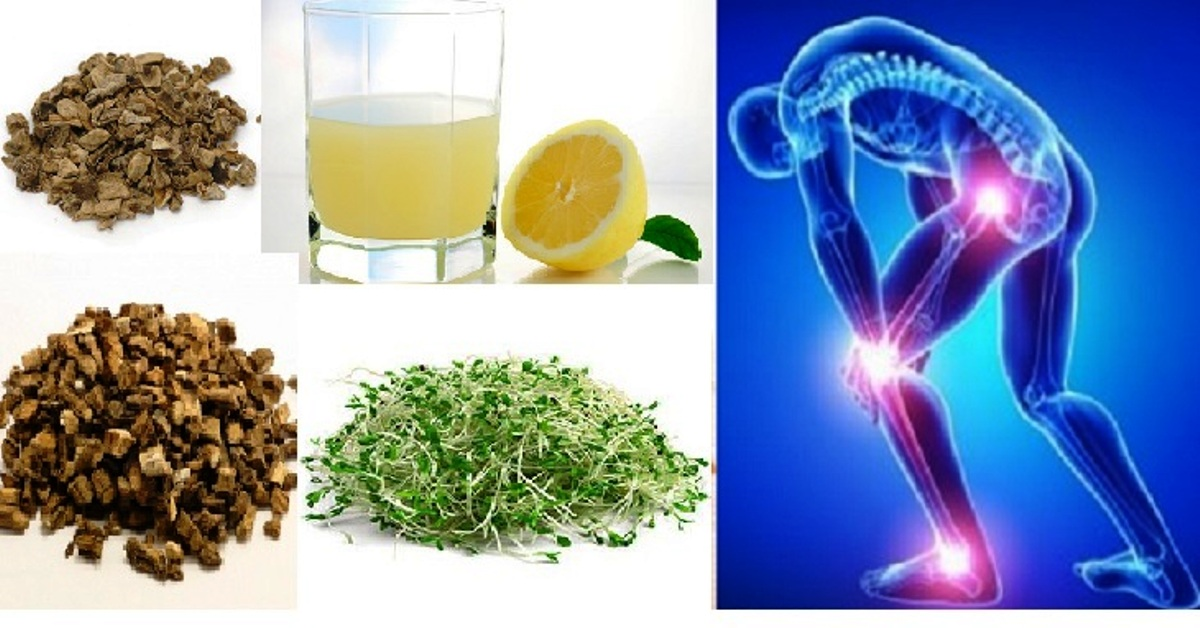 5 Herbs To Dissolve Uric Acid Crystals And Relieve Gout And Joint Pain